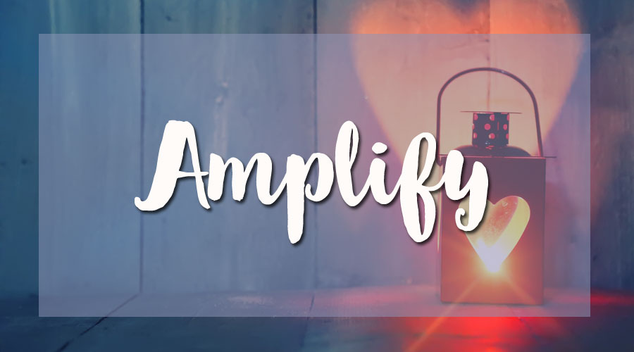 amplify your message
